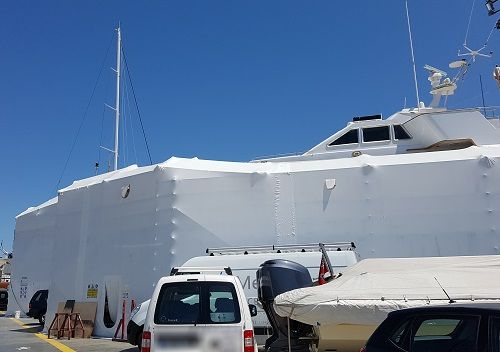 YSD yacht refitting and repair project