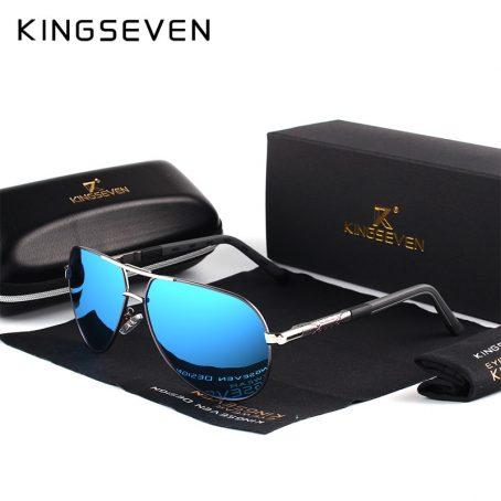 KINGSEVEN Gafas de sol polarizadas de aluminio para hombre 2