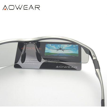 Gafas de sol fotocromáticas hombre gafas de camaleón polarizadas para hombre cambio de Color HD de visión nocturna para conducir gafas 4